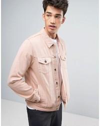 Pink Denim Jackets For Men Men S Fashion