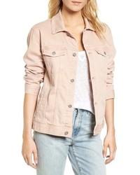 Nancy distressed denim jacket medium 8719883