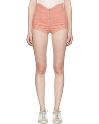Isabel Marant Pink Denim Everson Shorts