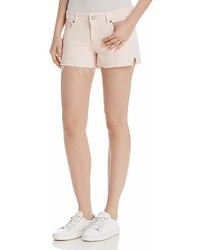 DL1961 Renee Cutoff Denim Shorts In Blush Pink