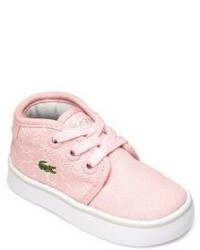Lacoste Babys Toddlers Ampthill Printed Chukka Sneakers