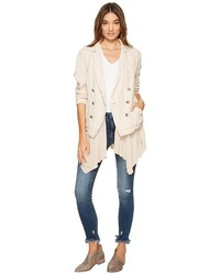 Free People Layered Ruffles Blazer Coat