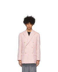 Givenchy Pink Double Breasted Oversized Blazer