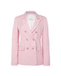 Tibi Viscose Suiting Steward Blazer