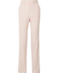 Calvin Klein 205W39nyc Striped Wool Twill Straight Leg Pants