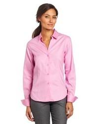 Pink Dress Shirt Ralph Lauren Blue Label Solid Oxford