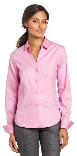 Jones new york petite long sleeve no iron easy care blouse for Jones new york no iron easy care boyfriend shirt
