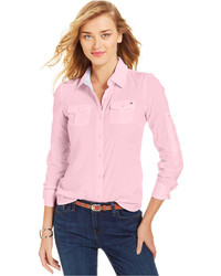 Tommy Hilfiger Women/'s Blouse in Pink