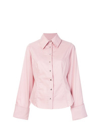 MARQUES ALMEIDA Marquesalmeida Raw Hem Fitted Shirt