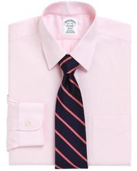Brooks Brothers Non Iron Regent Fit Point Collar Dress Shirt