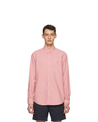 Polo Ralph Lauren Pink Gart Dyed Oxford Shirt
