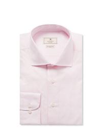 Hackett Pink Mayfair Slim Fit Cotton Poplin Shirt