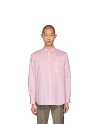Comme Des Garcons SHIRT Pink Oxford Shirt
