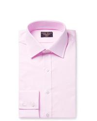 Emma Willis Pink Slim Fit Cotton Oxford Shirt
