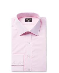 Emma Willis Pink Slim Fit Cotton Shirt