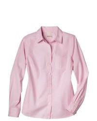 Shahi Apparel Pvt. Ltd. Merona Favorite Button Down Shirt Oxford Pink S