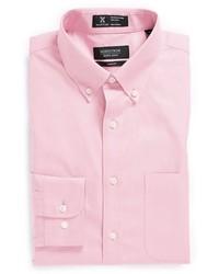 Nordstrom Shop Smartcare Trim Fit Solid Dress Shirt