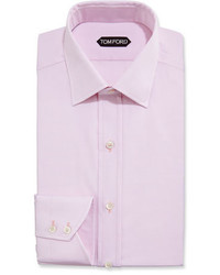 Tom Ford Slim Fit Small Classic Collar Dress Shirt Pink