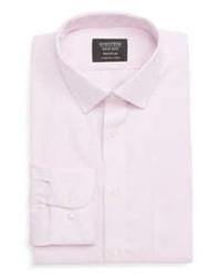 Nordstrom Men's Shop Smartcare Trim Fit Solid Dress Shirt