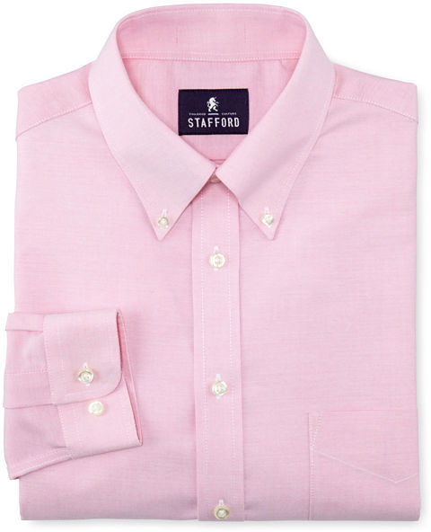 Pink Oxford Dress