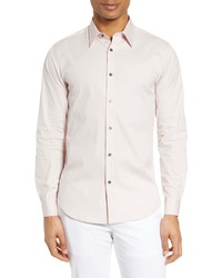 Theory Sylvain Slim Fit Button Up Dress Shirt