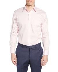 Nordstrom Men's Shop Trim Fit Non Iron Solid Dress Shirt