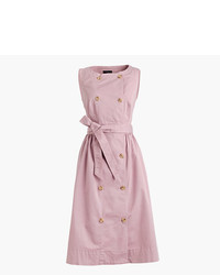 J.Crew Petite Gart Dyed Trench Dress