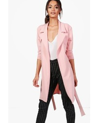 Boohoo Bethany Tailored Duster Coat