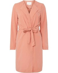 Pink summer duster coat medium 6372866