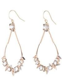 Alexis Bittar Crystal Encrusted Mosaic Drop Earrings