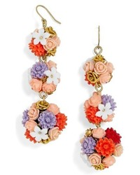 BaubleBar Flora Drop Earrings