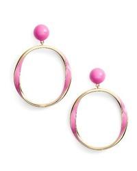 Kate Spade New York Do The Twist Hoop Earrings