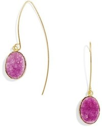BaubleBar Nightfall Threader Drop Earrings