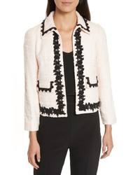 Kate Spade New York Reagan Embellished Boucle Jacket