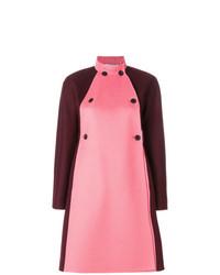 Valentino Color Blocked Coat
