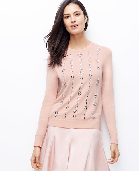 Embellished Cardigan Sweaters