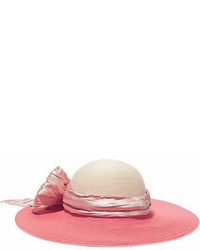 Pink Embellished Hat