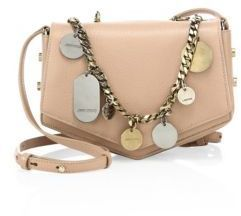 8d4409f98ad5a ... Jimmy Choo Arrow Embellished Chain Leather Crossbody Bag ...