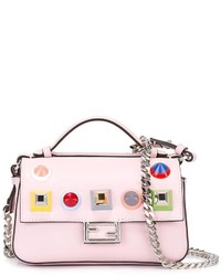 Fendi Double Micro Baguette Shoulder Bag
