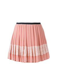 RED Valentino Embellished Crepe Mini Skirt