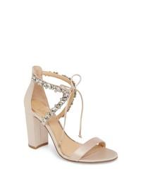 JEWEL BADGLEY MISCHKA Thamar Embellished Sandal