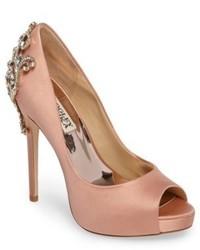 Karolina embellished peep toe pump medium 5169158