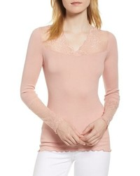 Rosemunde Brigit Lace Embellished Top