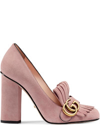 Suede pump medium 613387