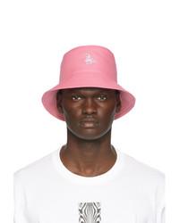 Burberry Pink Graphic Bucket Hat