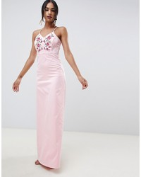 Y.a.s Embroidered Maxi Dress