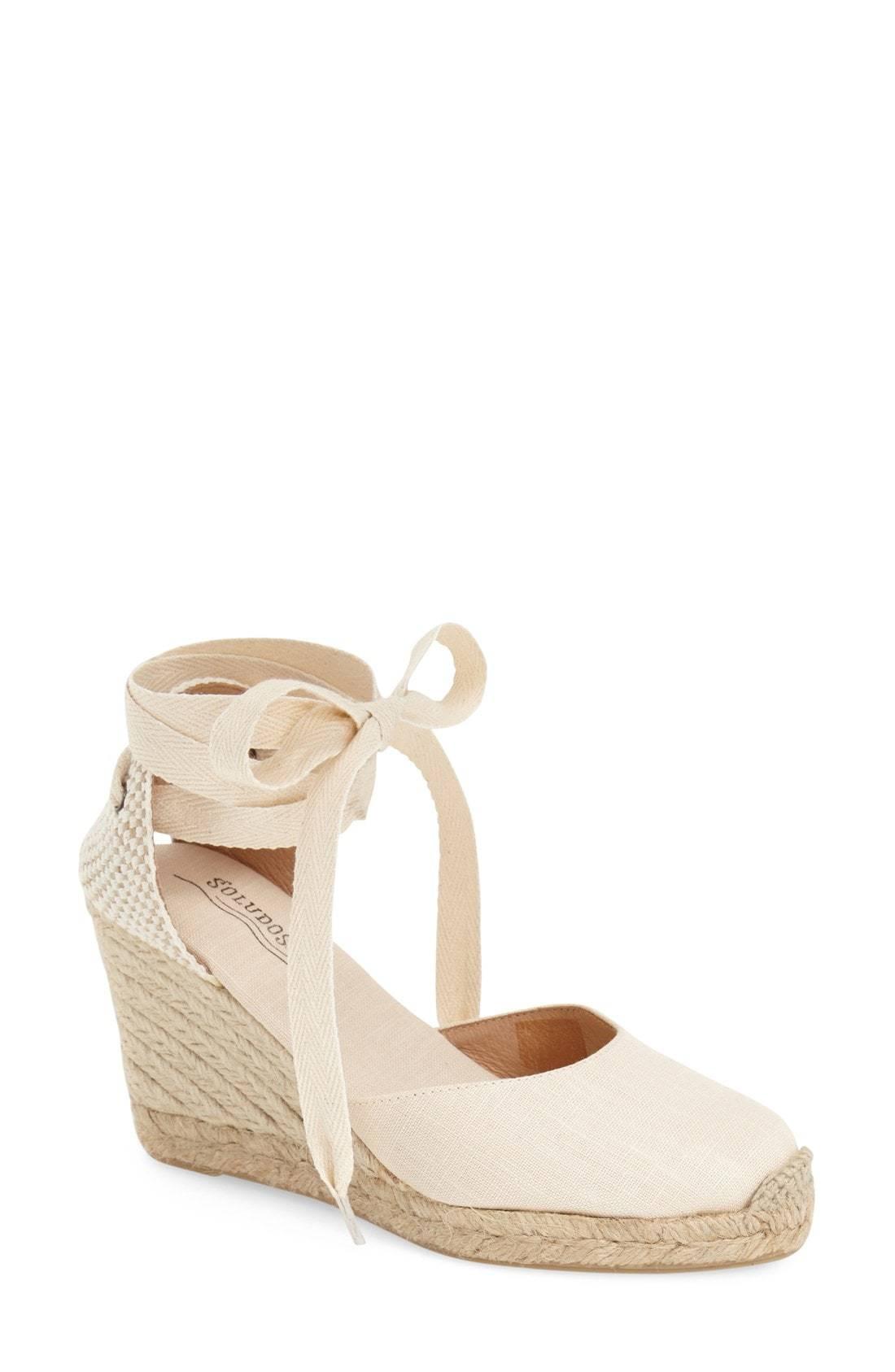 3c3203bb633 Wedge Lace Up Espadrille Sandal