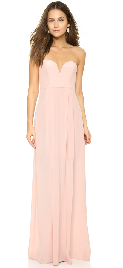 Zimmermann Strapless Maxi Dress Where To Buy How To Wear