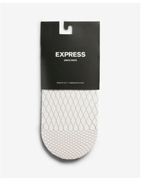 Express Fishnet Ankle Socks