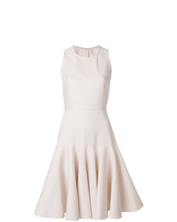 Maison Rabih Kayrouz Flared Frill Trim Dress